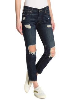Lucky Brand Sienna Distressed Slim Boyfriend Jeans