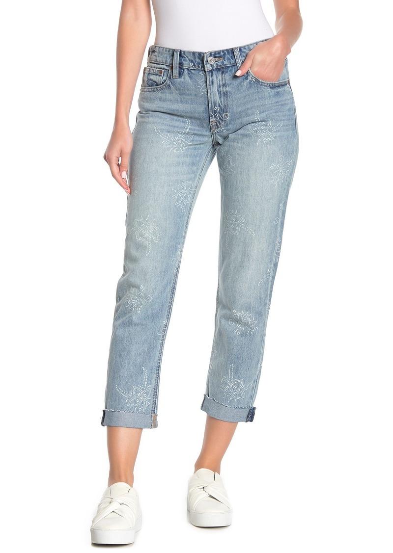 Lucky Brand Sienna Printed Slim Boyfriend Jeans