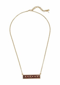 Lucky Brand Simple Bar Necklace