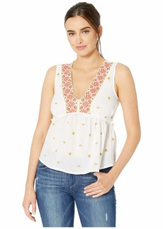Lucky Brand Sleeveless Romantic Top