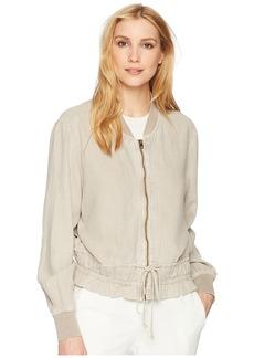 Lucky Brand Soft Feminine Bomber Jacket