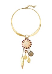 Lucky Brand Statement Charm Necklace