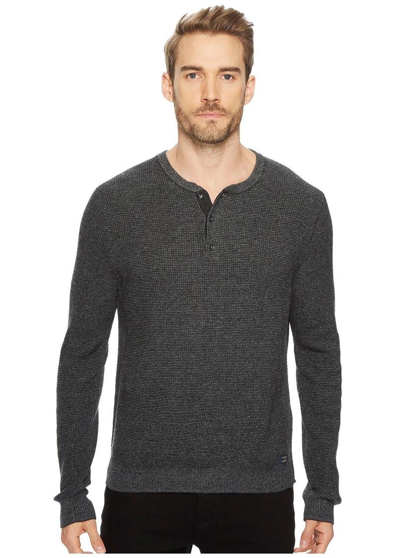 Lucky Brand Stitch Henley Sweater Sweaters