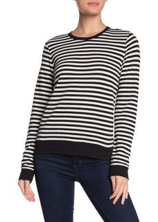 Lucky Brand Stripe Crew Neck Sweater