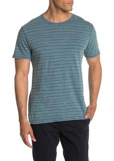 Lucky Brand Stripe Print T-Shirt