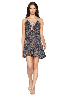 Lucky Brand Sunset Boulevard Swing Dress Cover-Up