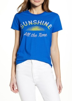 Lucky Brand SUNSHINE ALL THE TIME TEE