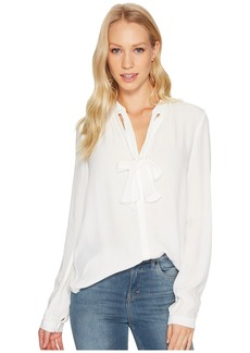 Lucky Brand Tie Neck Top