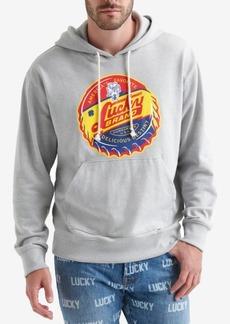 Lucky Brand Totally Lucky Unisex Bottle Cap Hooded Sweatshirt