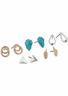 Lucky Brand Turquoise Earrings Set