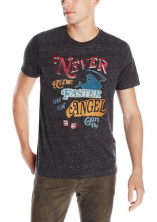 Lucky Brand ucky Brand Men's Faster Angel Graphic Tee  arge