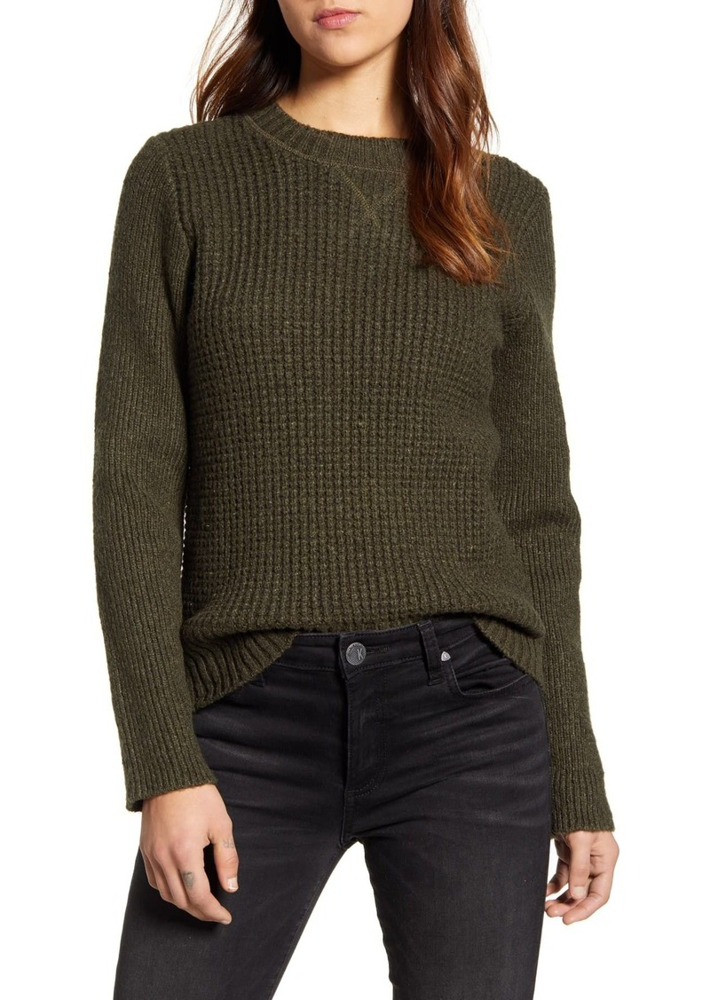 Lucky Brand Waffle Knit Pullover Sweater
