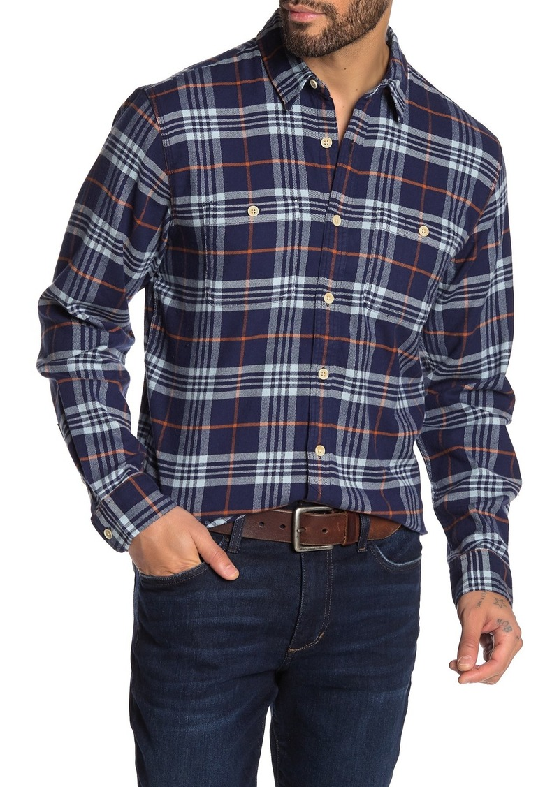 Lucky Brand Western Long Sleeve Stretch Fit Shirt