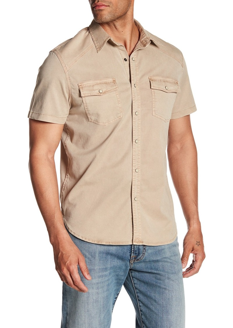 Lucky Brand Western Work-Wear Regular Fit Shirt