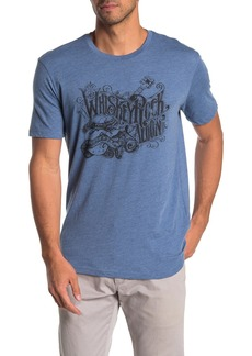 Lucky Brand Whiskey Rock Saloon T-Shirt