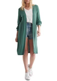 Women's Lucky Brand Cloud Jersey Long Cardigan