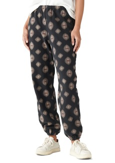 Women's Lucky Brand Sueded Terry Pants