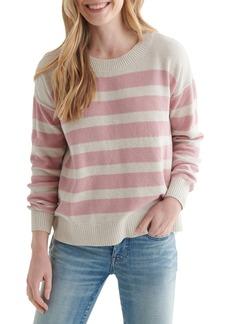 Women's Lucky Brand Textured Cotton Sweater