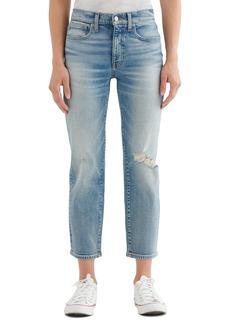 Women's Lucky Brand Zoe Crop Straight Leg Jeans