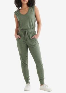 Lucky Brand Women's Sleeveless Utility-Pocket Jumpsuit