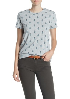 Lucky Brand Woodblock Floral Tee