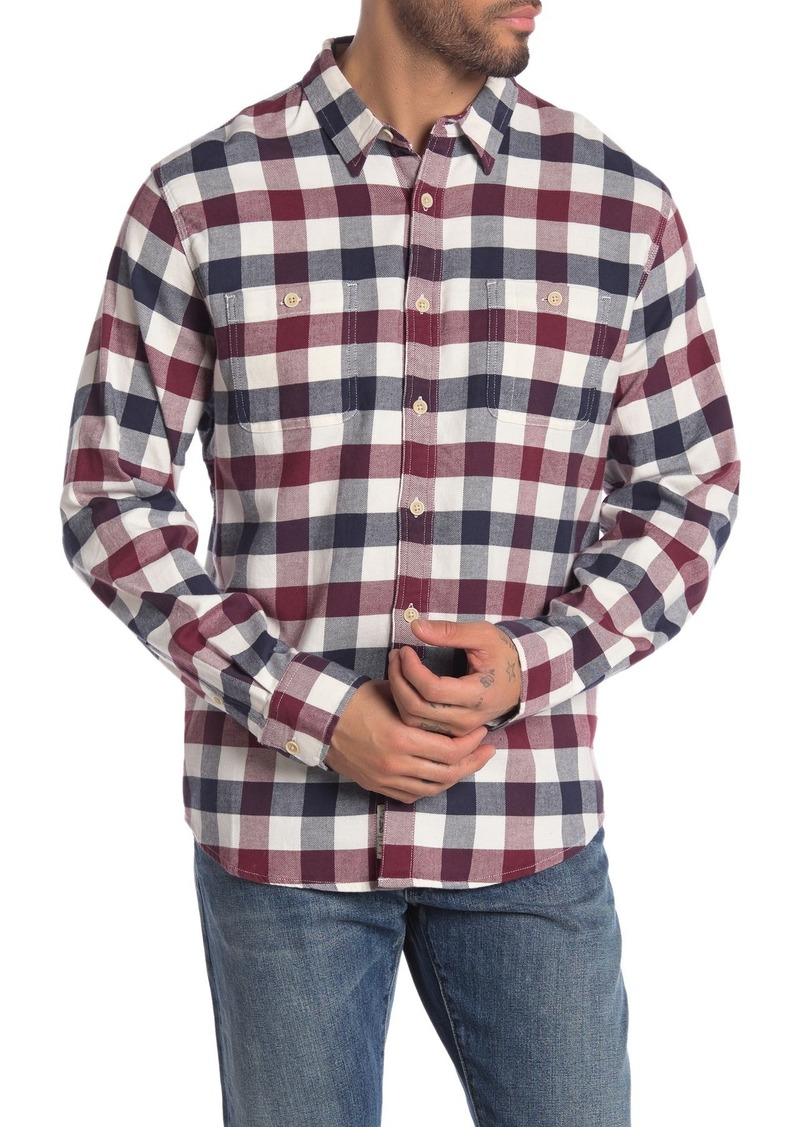 Lucky Brand Workwear Buffalo Plaid Regular Fit Shirt