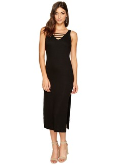 Lucy Cage Midi Dress