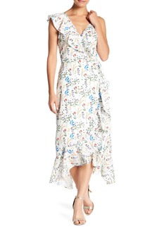 Lucy Floral Print Wrap Dress
