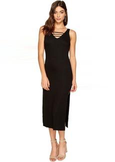 Lucy Cage Midi Dress