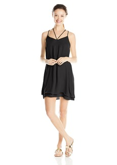 Lucy Love Junior's Ask Me Out Spaghetti Strap Dress