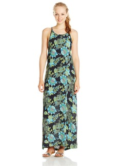 Lucy Love Junior's Shangri-La Printed Maxi Dress Shangri-La