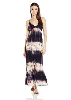 Lucy Love Women's Wanderlust Tie Dye Maxi Dress