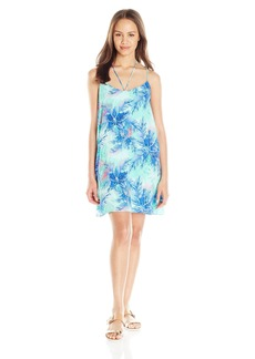 Lucy Love Women's Cassie Palm Print Shift Dress