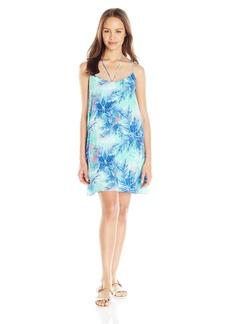 Lucy Love Women's Cassie Palm Print Shift Dress