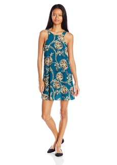 Lucy Love Women's Charlie Morraccan Printed Swing Dress