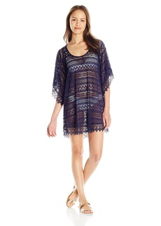 Lucy Love Women's Crochet in Heaven Tunic Dress