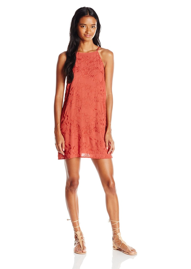 Lucy Love Women's Embroidered Print Gauze Sophia Dress