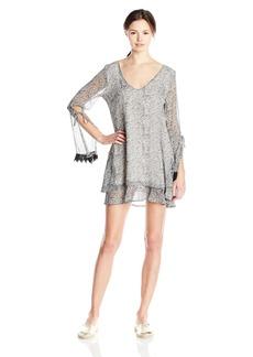 Lucy Love Women's Felicity Printed Bell Sleeve Dress