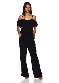 Lucy Love Women's Hollie Solid Jumpsuit
