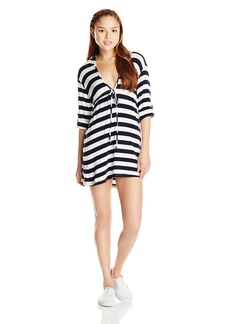 Lucy Love Women's Hooded Resort Dress