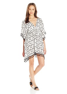 Lucy Love Women's Kei Lani Cover Up Tassel Dress
