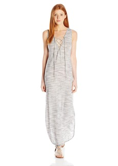 Lucy Love Women's Lace up Cape Cod Maxi Dress