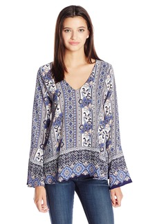 Lucy Love Women's Moon Child Printed Top