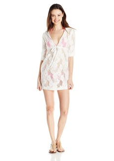 Lucy Love Women's Resort Lace Swim Cover-up Dress