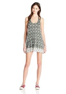 Lucy Love Women's Shoreclub Printed Sleeveless Dress