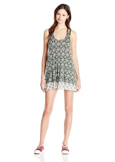 Lucy Love Women's Shoreclub Printed Sleeveless Dress