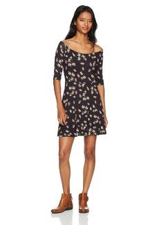 Lucy Love Women's Shrug It Offthe Shoulder Dress