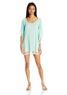 Lucy Love Women's Soft Crinkle Gauze In Heaven Tunic Dress