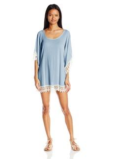 Lucy Love Women's Soft Crinkle Gauze in Heaven Tunic Dress