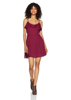 Lucy Love Women's Solid Celebration Dress